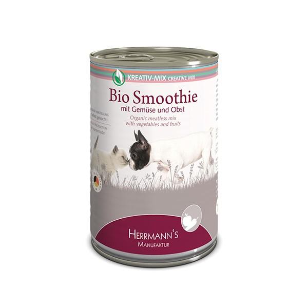 Bio Smoothie mit Gemüse und Obst