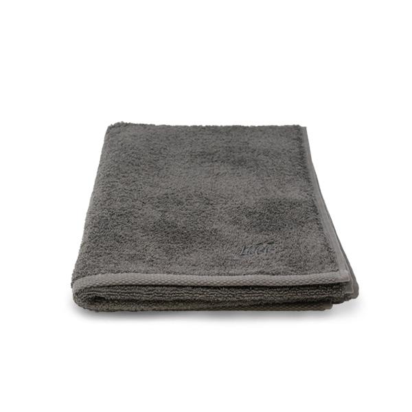 """Handtuch aus reiner Bio-Baumwolle """"Stone Grey"""""""