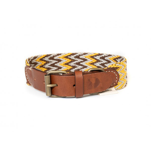 Hundehalsband PERUVIAN Gold