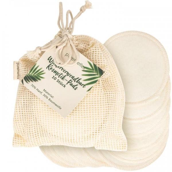 Kosmetik-Pads inkl. Wäschesäckchen (wiederverwendbar)