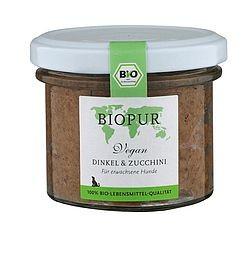 Biopur Vegan: Dinkel und Zucchini, 100g