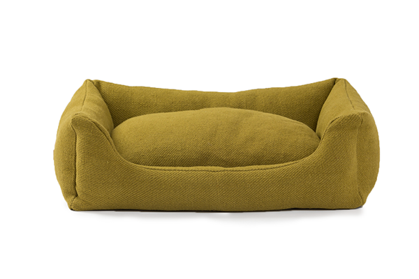HENRI - Hundebett aus Jute |mustard