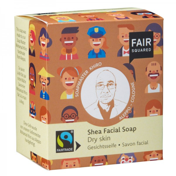 Gesichtsseife |trockene Haut |Shea 2x80g