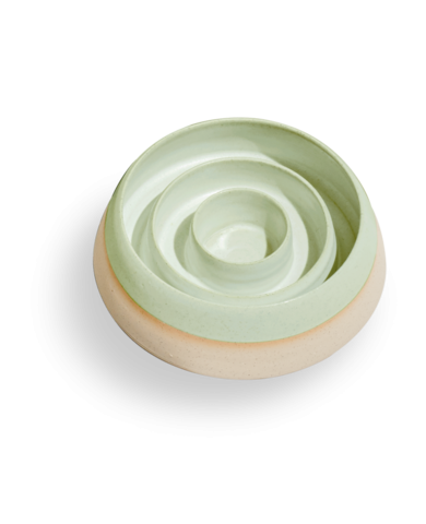 Ceramic Slow feeder Bo |emerald