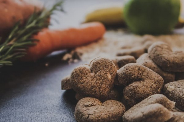 Herzenssache |vegane Hundeplätzchen