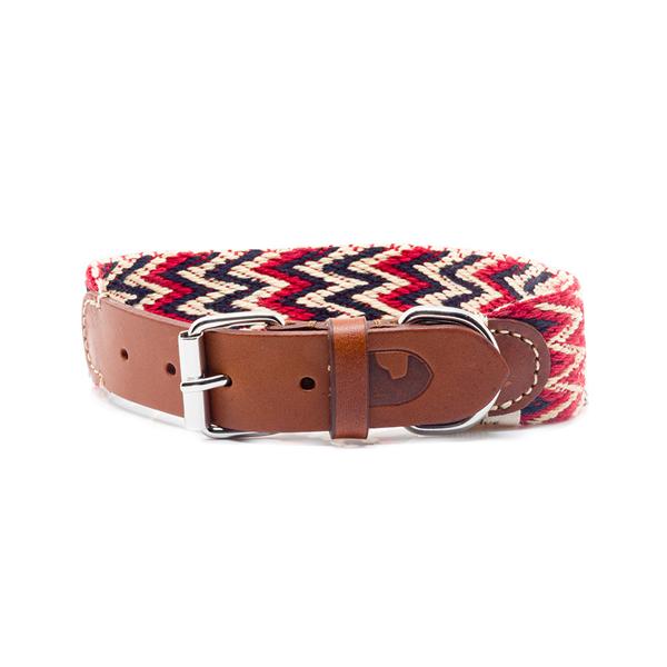 Hundehalsband Peruvian Red