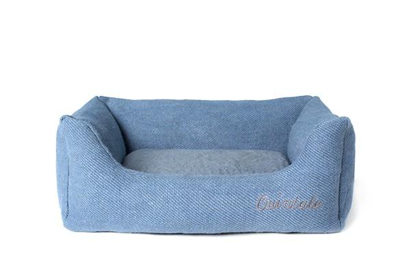 HENRI - Hundebett aus Jute |blue