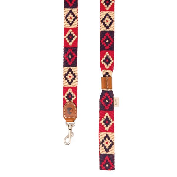 Hundeleine Peruvian Indian Red