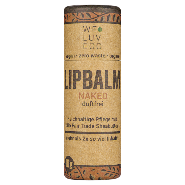 "Lipbalm ""Naked"" (duftfrei)"