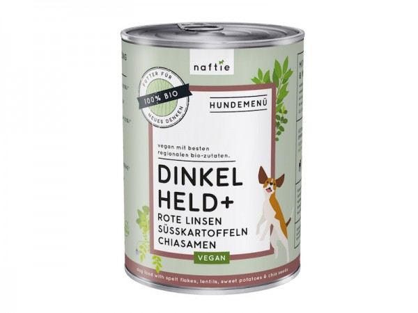 Hund Adult Menü - vegan | Dinkel Held+