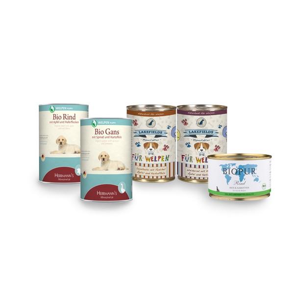 Futter Probierpaket für Welpen