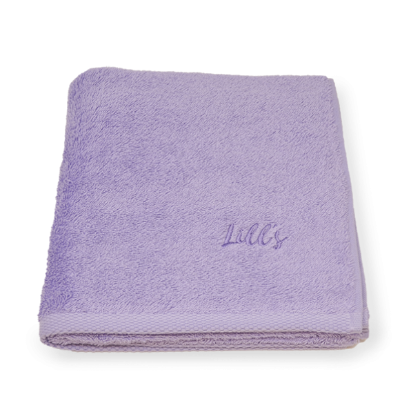 "Organic cotton dog towel ""Purple"" [limited edition]"