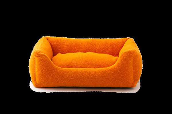 HENRI - Hundebett aus Casentino | orange