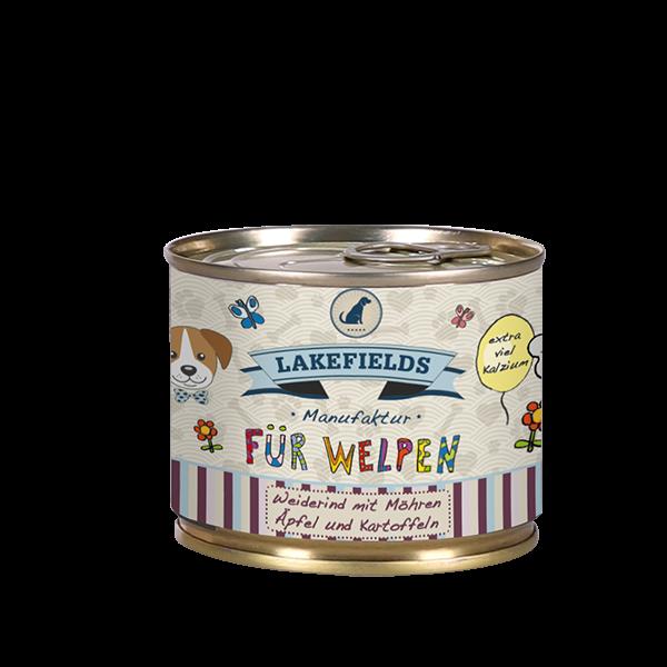 Dosenfleisch-Menü Weiderind | Welpe