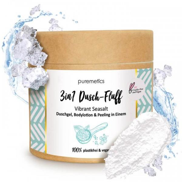 "3in1 Dusch-Fluff mit Meersalzpeeling ""Vibrant Seasalt"""