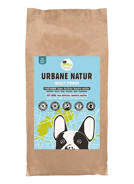 URBANE NATUR – Raffinierte Mahlzeit aus Insektenprotein für Stadthunde