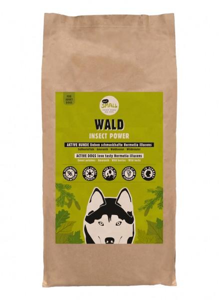 WALD – Proteinreiches Futter aus Insekten für aktive Hunde