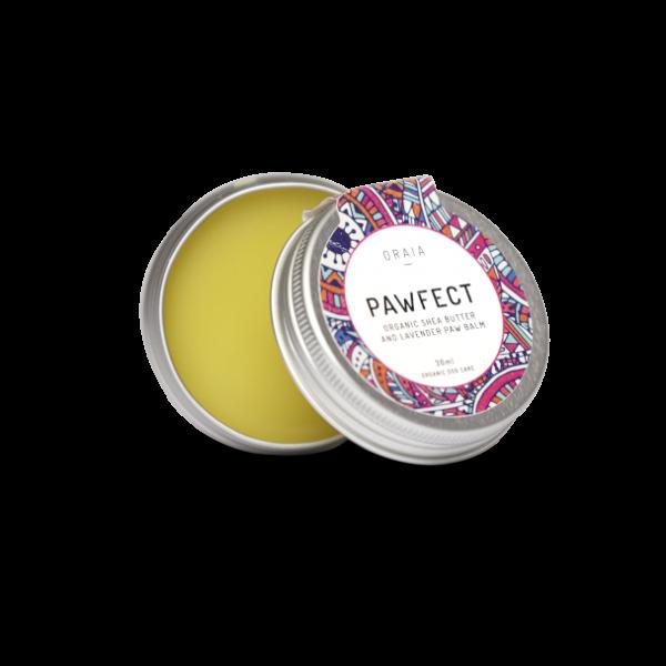 PAWFECT Pfötchenbalsam mit Sheabutter und Lavendel, 30ml