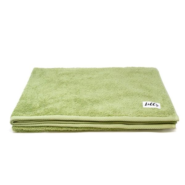 """Hundehandtuch aus Bio-Baumwolle """"Green Leaf"""""""