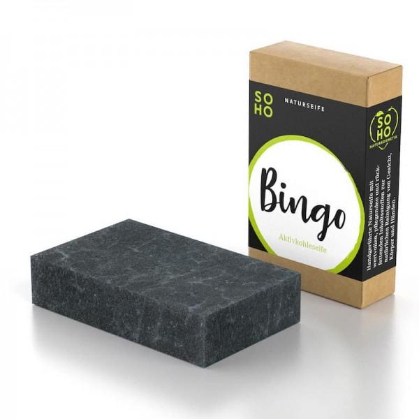 Gesichtsseife Bingo | Aktivkohle & Babassuöl