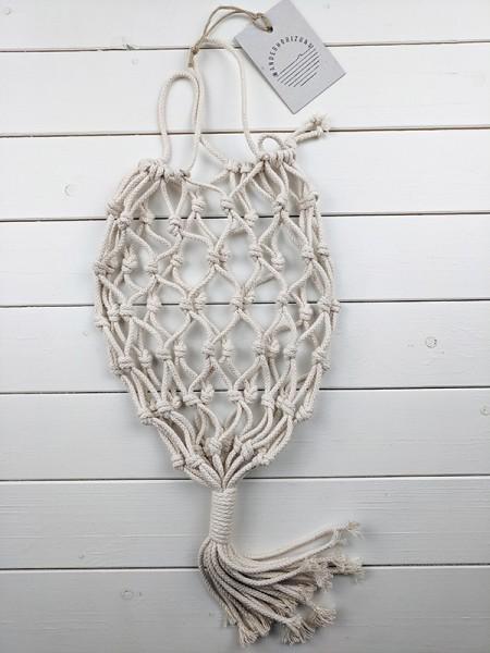 Geknüpftes Obstnetz zum Hängen