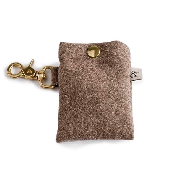 "Kotbeutel-Tasche aus Wolle ""Country"""