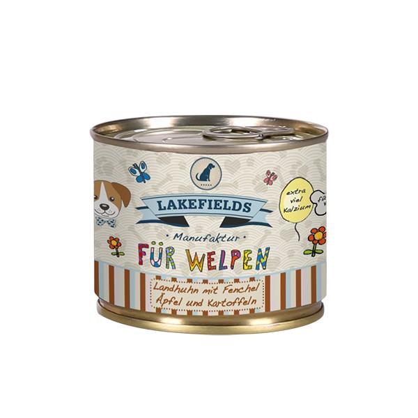 Dosenfleisch-Menü Landhuhn | Welpe