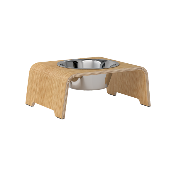 dogBar® Single | Holz Eiche hell