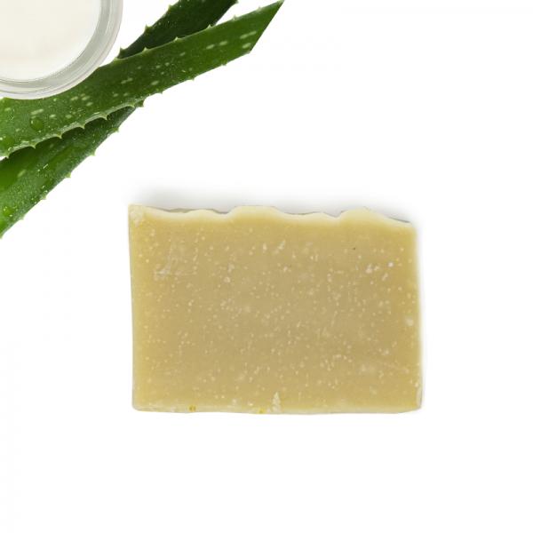 Pflanzenölseife Aloe Vera mit Sheabutter und Olivenöl