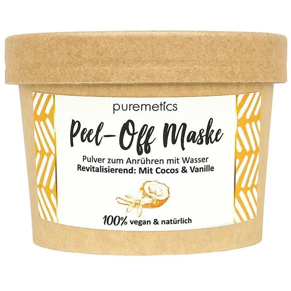 """Peel-of-Maske """"Revitalisierend - Mit Cocos & Vanille"""""""