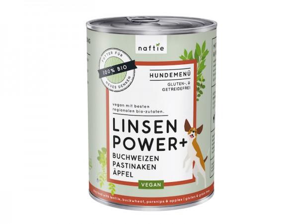 Hund Adult Menü - vegan | Linsen Power+