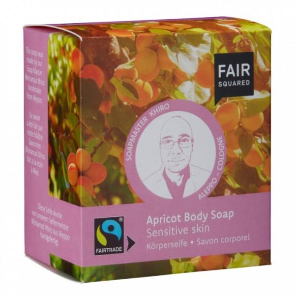 Körperseife |empfindliche Haut |Aprikose 2x80g