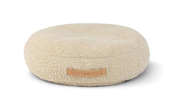Hundekissen Fulvio |Boucle Wolle | Cream