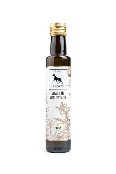 Vital-5-Öl für Hunde
