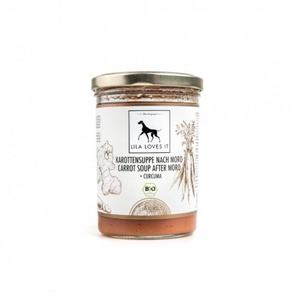 Bio Karottensuppe nach Moro für Hunde